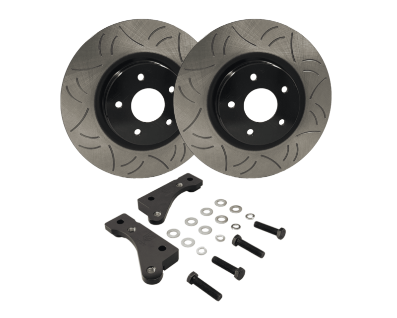 324mm Front Brake Upgrade Kit Suits: S14, S15, R33 GTS-T (Running R33 GTS-T Calipers)
