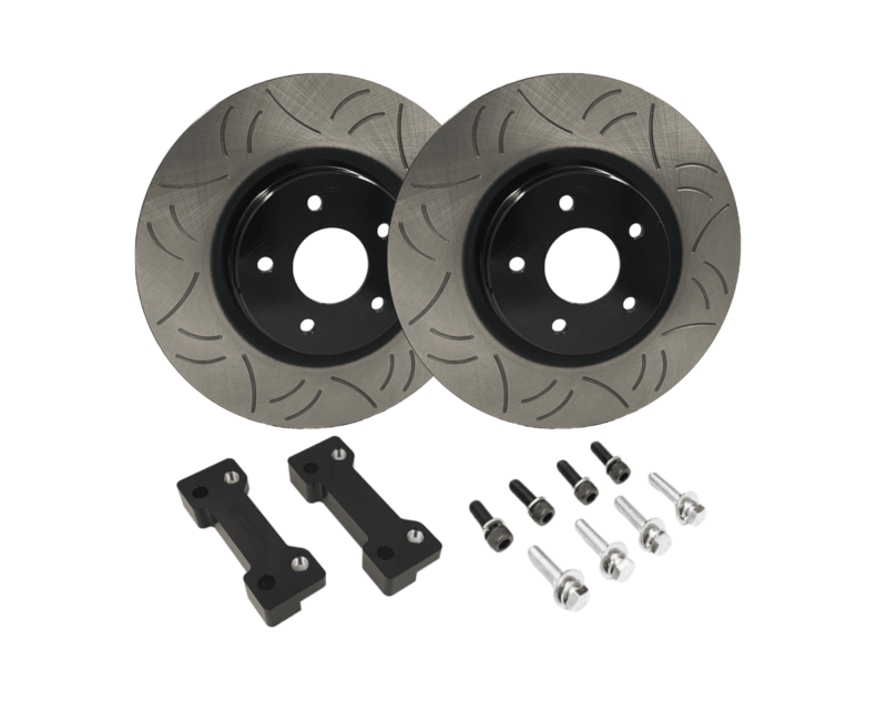 324mm Front Brake Upgrade Kit Suits: S13, S14, S15, R32 GTS-T