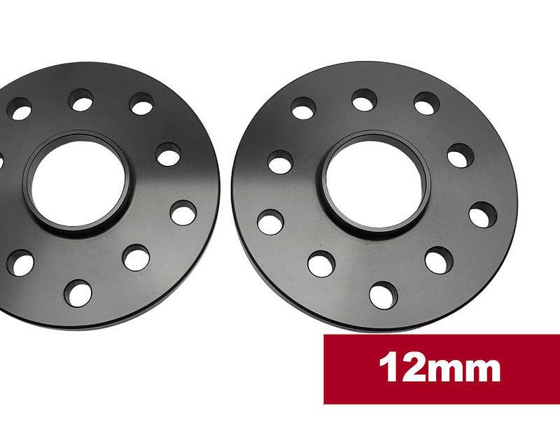 Multi-Fit Slip On Billet Wheel Spacers - 5×100 or 5x114.3 PCD / 56.1mm Hub (Pair).