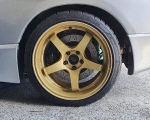 340mm Rear Brake Upgrade Kit Suits: R32 GTR, R33 GTR, R34 GTR