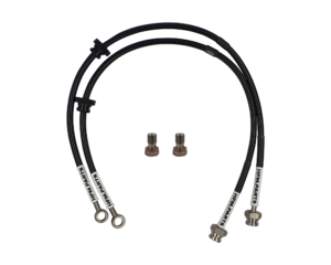 Front Hard Line Delete Braided Brake Lines Suits: S13, S14, S15
